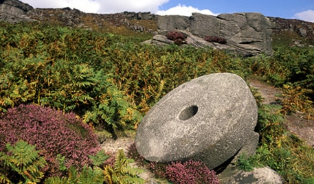 Have you ever wondered about the history of the famous Peak District millstone?