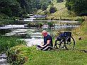 John Harris in Lathkill Dale