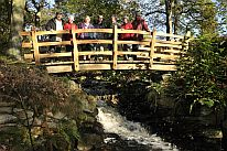 The official opening of Hoodbrook Bridge