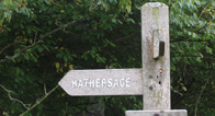 Route map for Hathersage
