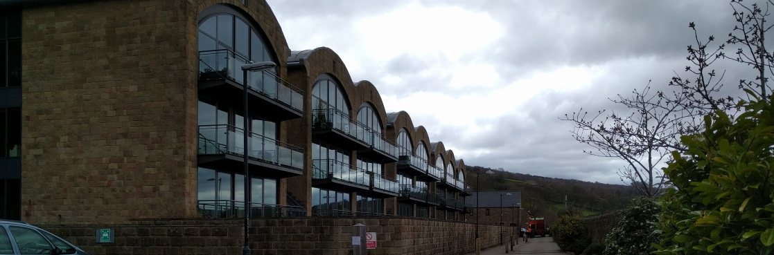 Photo of business unit development in the Peak District