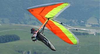 man gliding