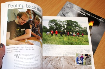 Archaeology and Conservation in Derbyshire magazine