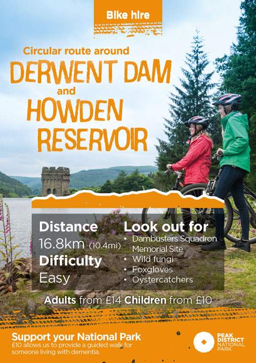 Derwent Dam cycling route