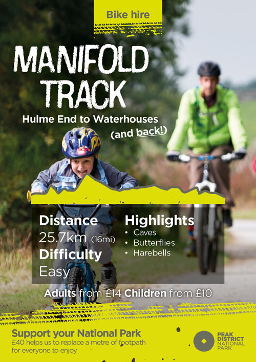 Manifold Track cycling route