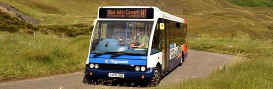 Peak District bus illustrating sustainable transport (c) Sam North