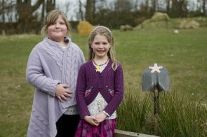 Children winners of moorland poetry competition