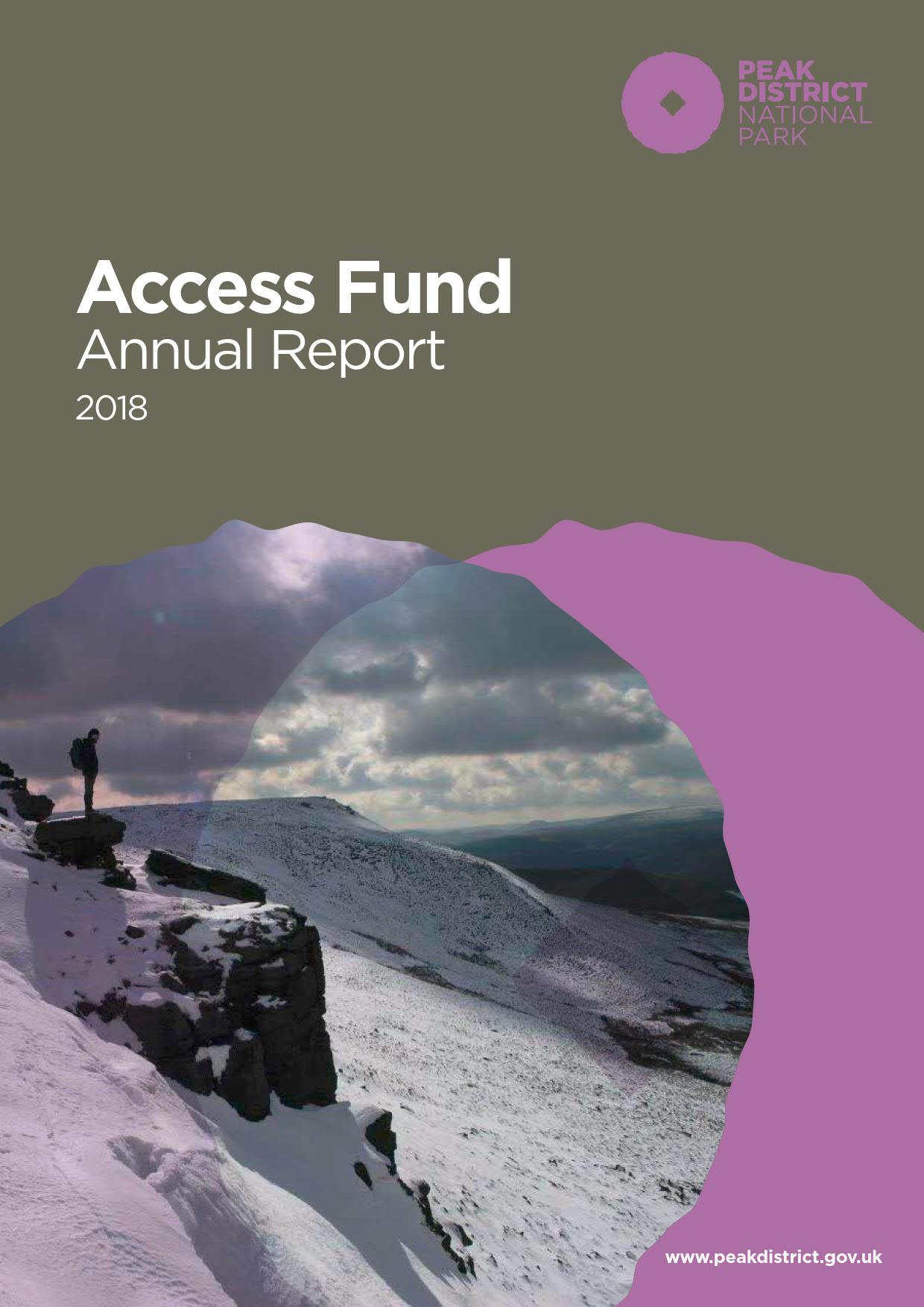 Access Fund Annual Report 2018