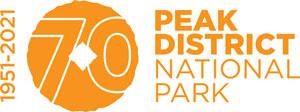 Peak District National Park - 70th Anniversary logo