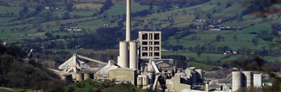 Cement works in Peak District