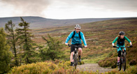 Route map for Pennine Cycleway