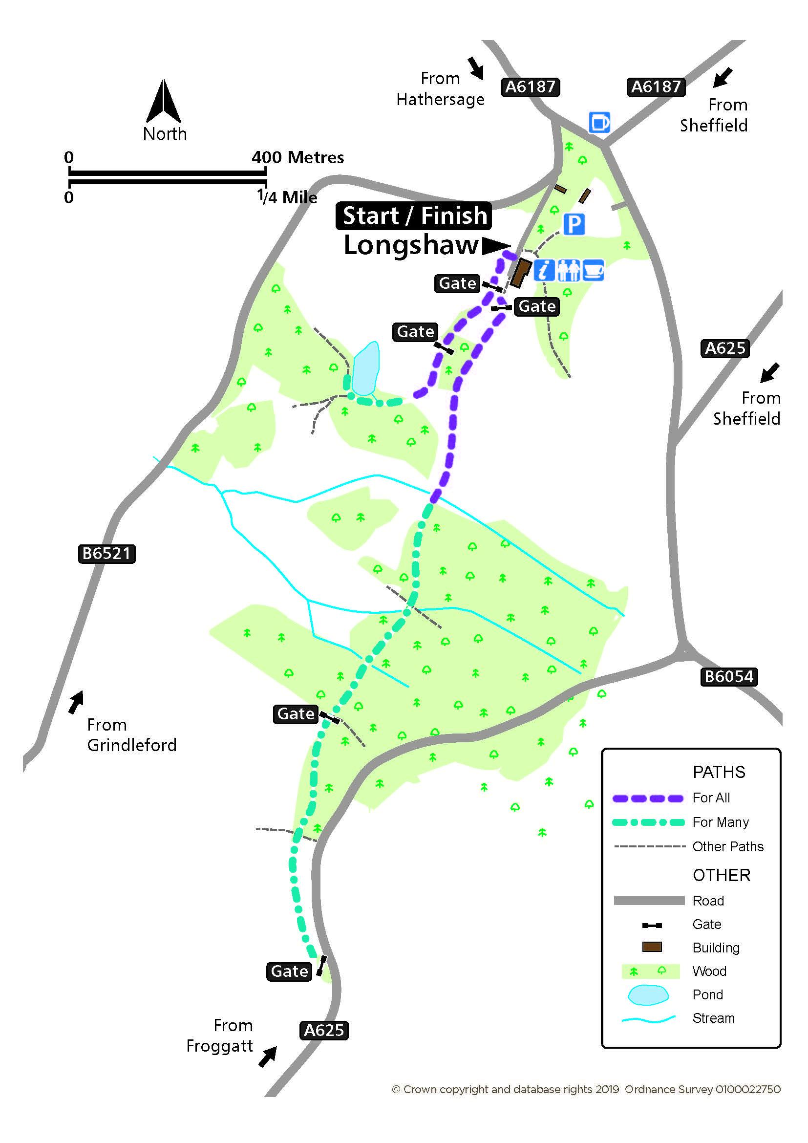 Longshaw route