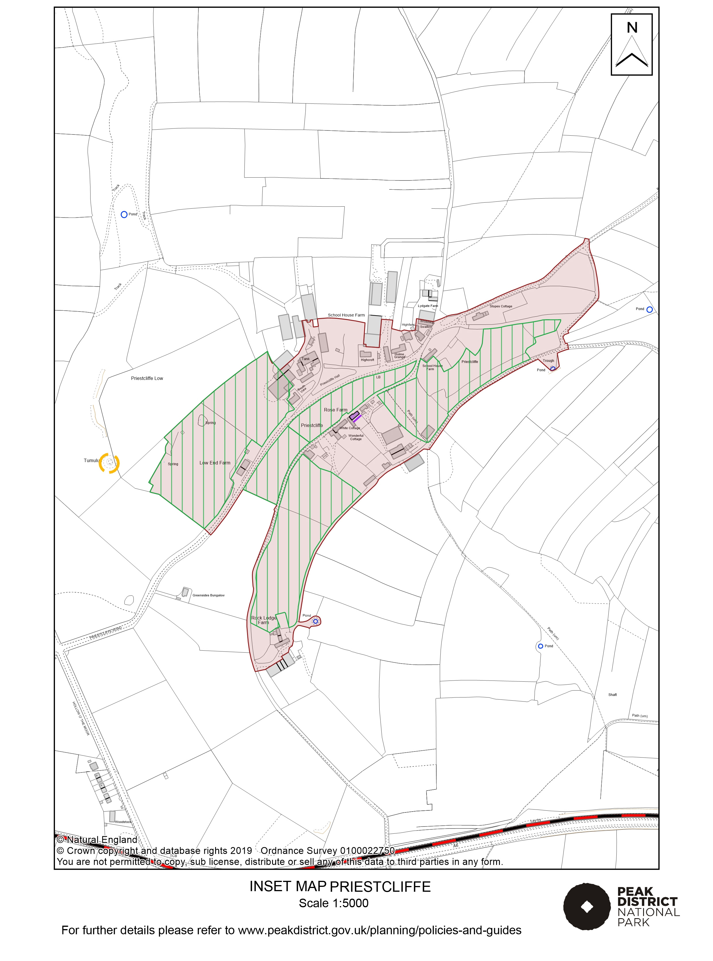 Local Plan Proposals Map: Priestcliffe
