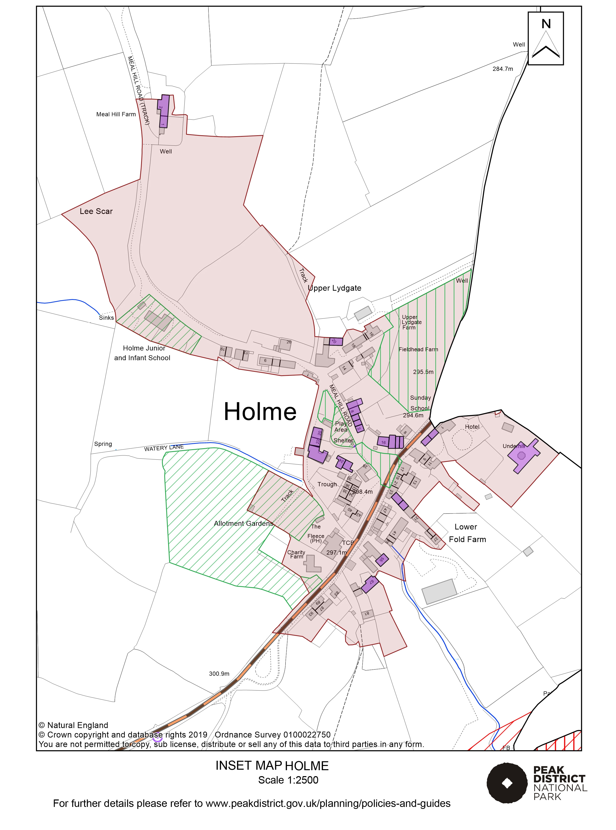 Local Plan Proposals Map: Holme
