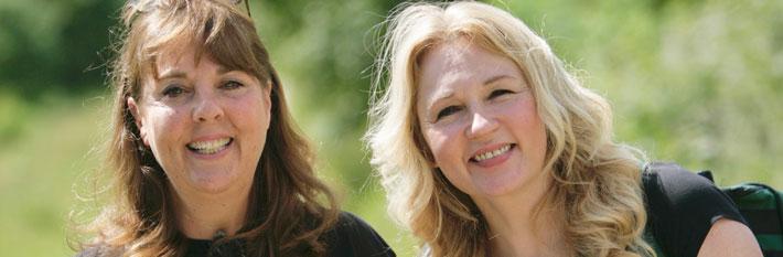 Gillian Scotford and Jane Cooper (Accessible Derbyshire)