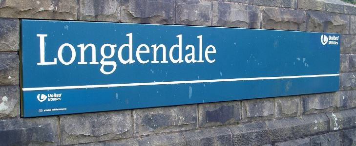 Longdendale sign