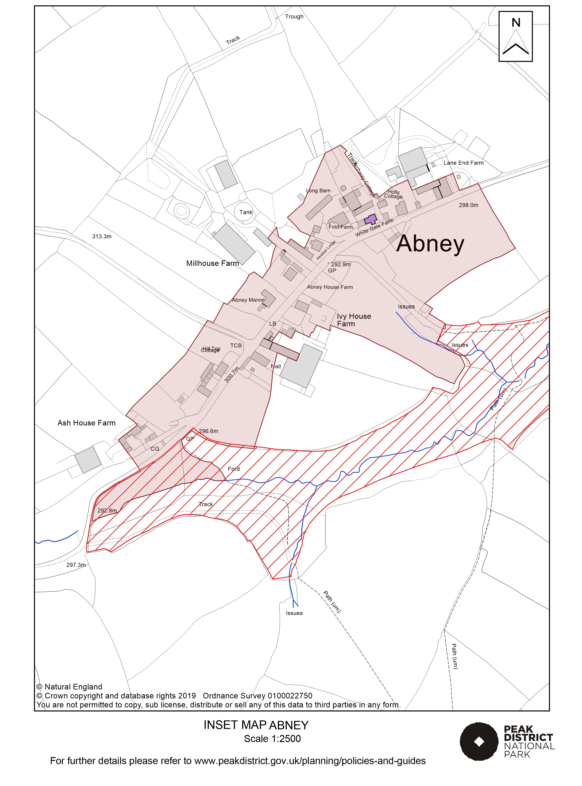 Local Plan Proposals Map: Abney