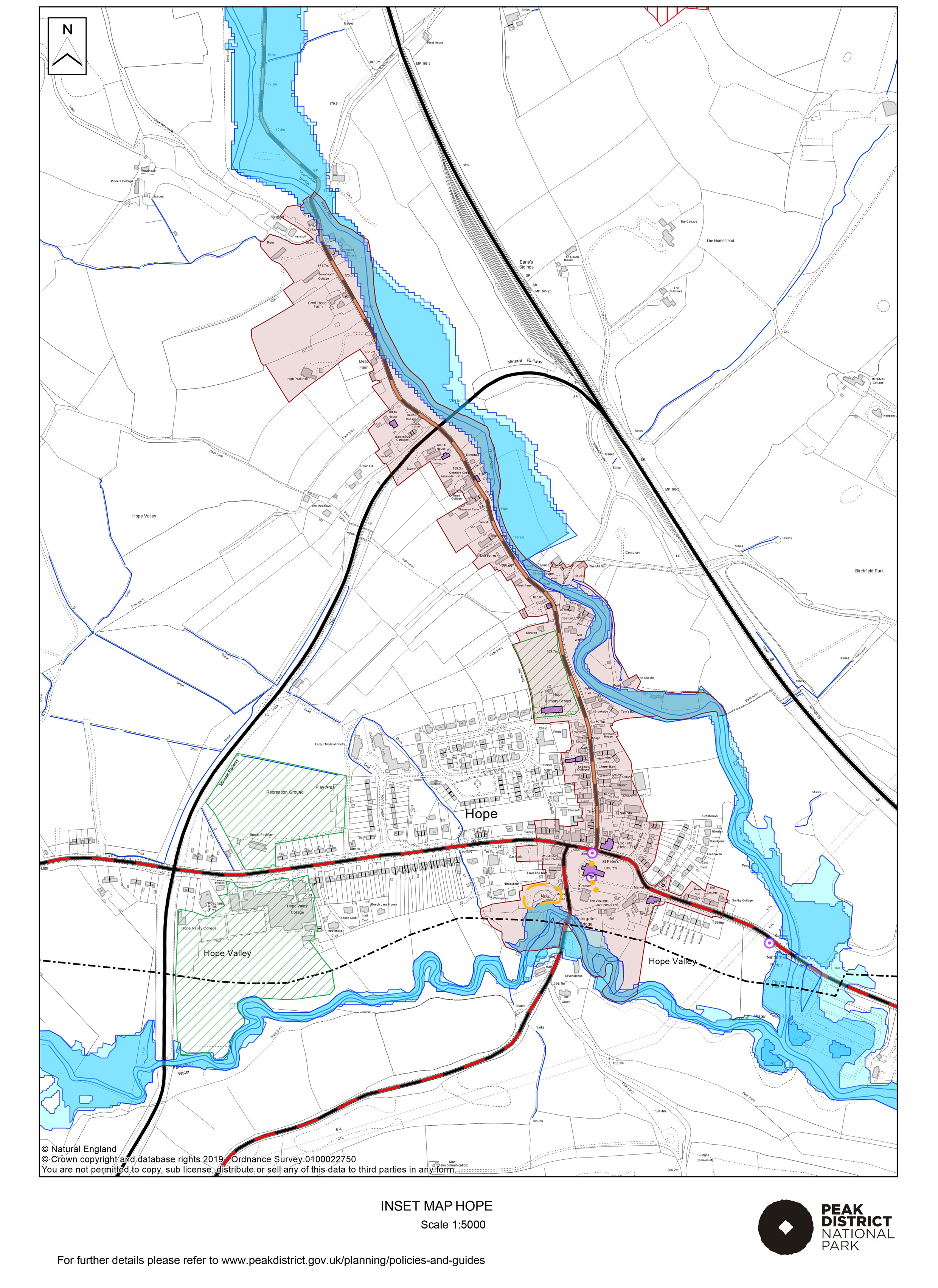 Local Plan Proposals Map: Hope