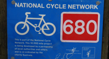 Route map for National Cycle Network