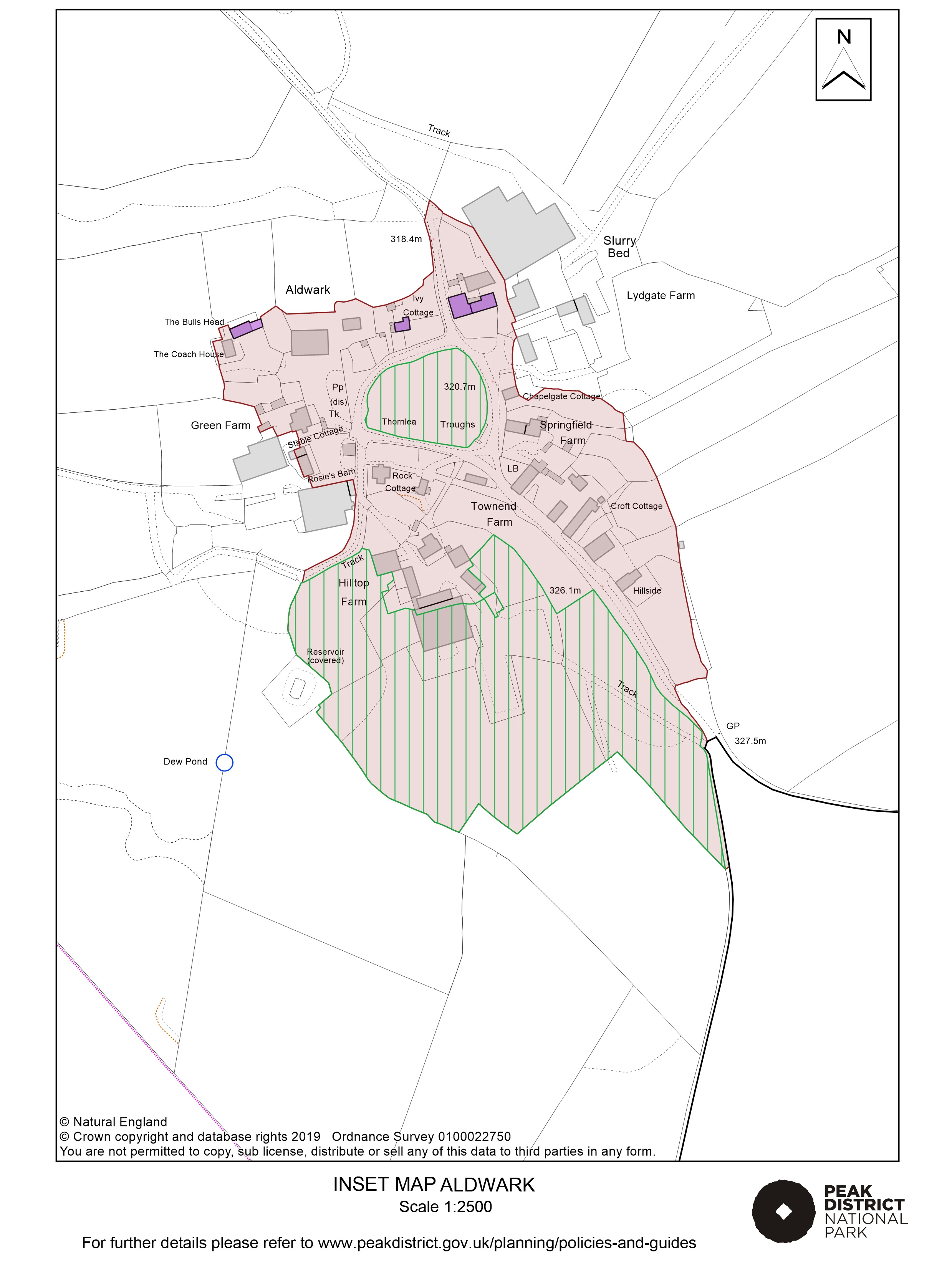 Local Plan Proposals Map: Aldwark