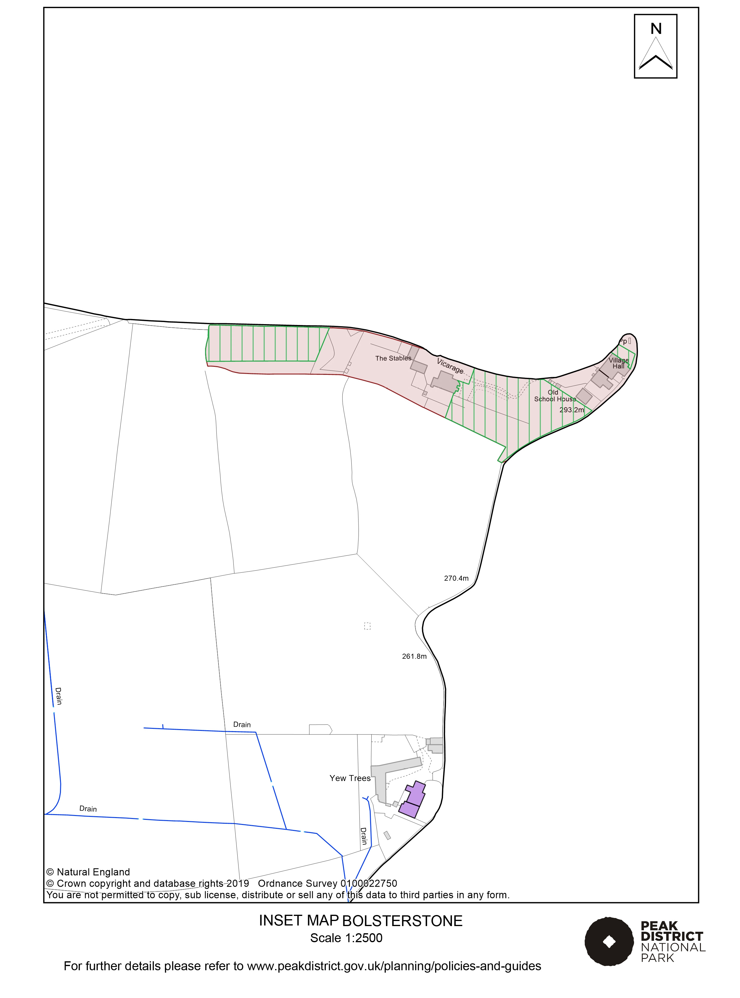 Local Plan Proposals Map: Bolsterstone