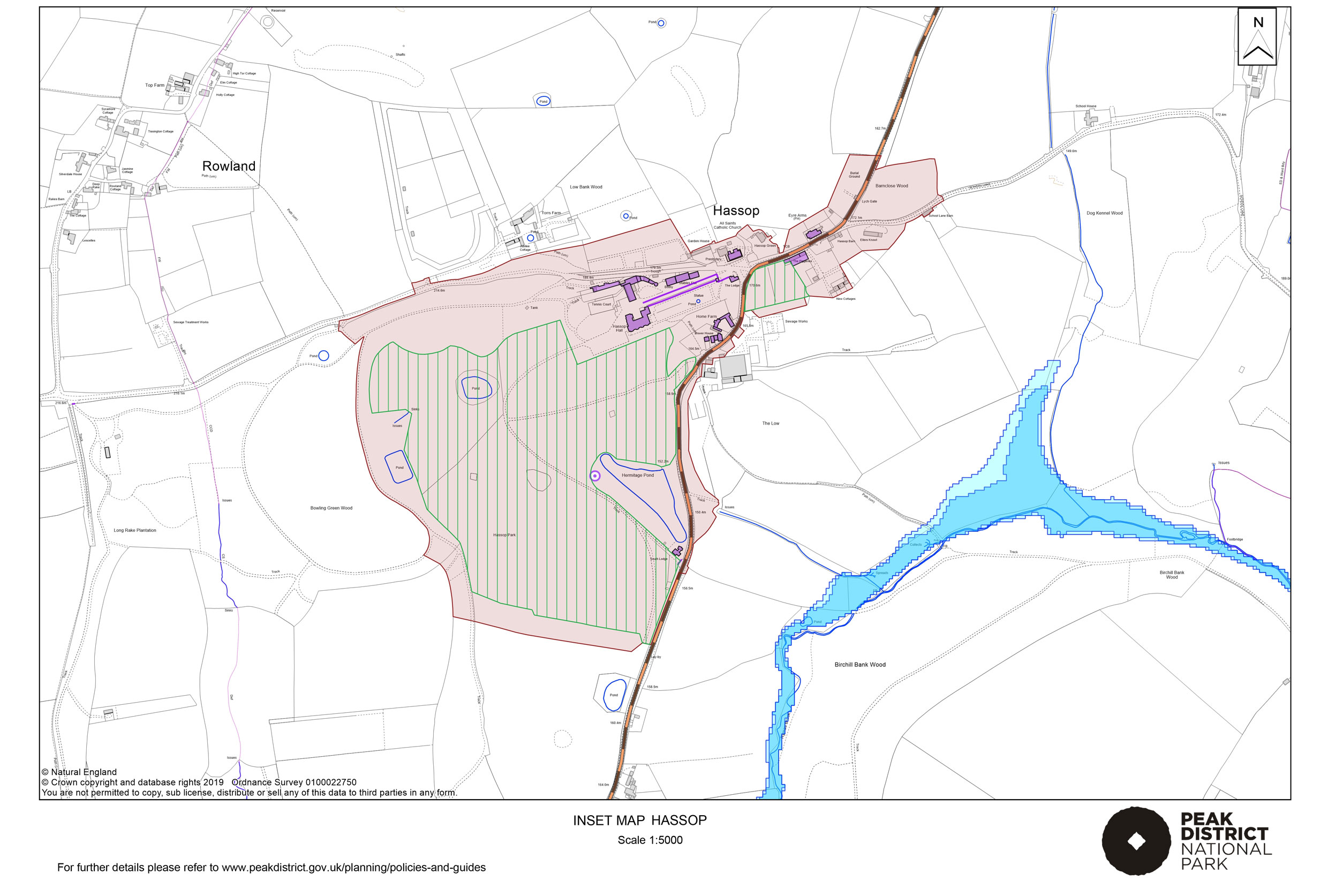 Local Plan Proposals Map: Hassop