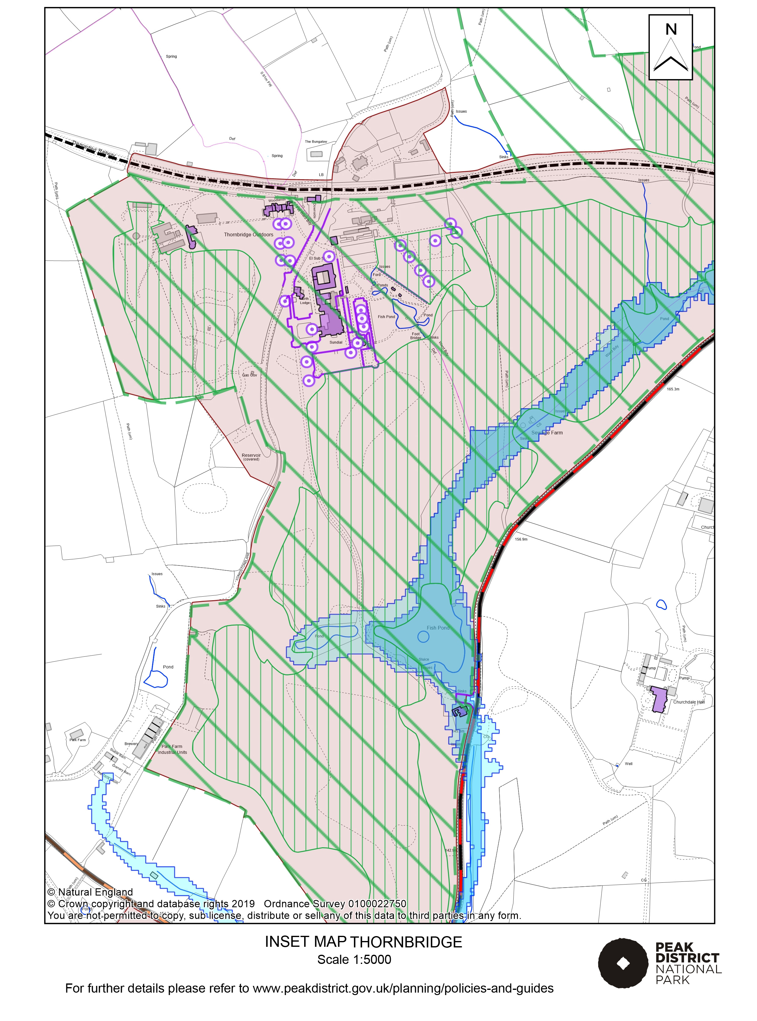 Local Plan Proposals Map: Thornbridge