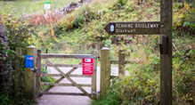 Route map for Pennine Bridleway