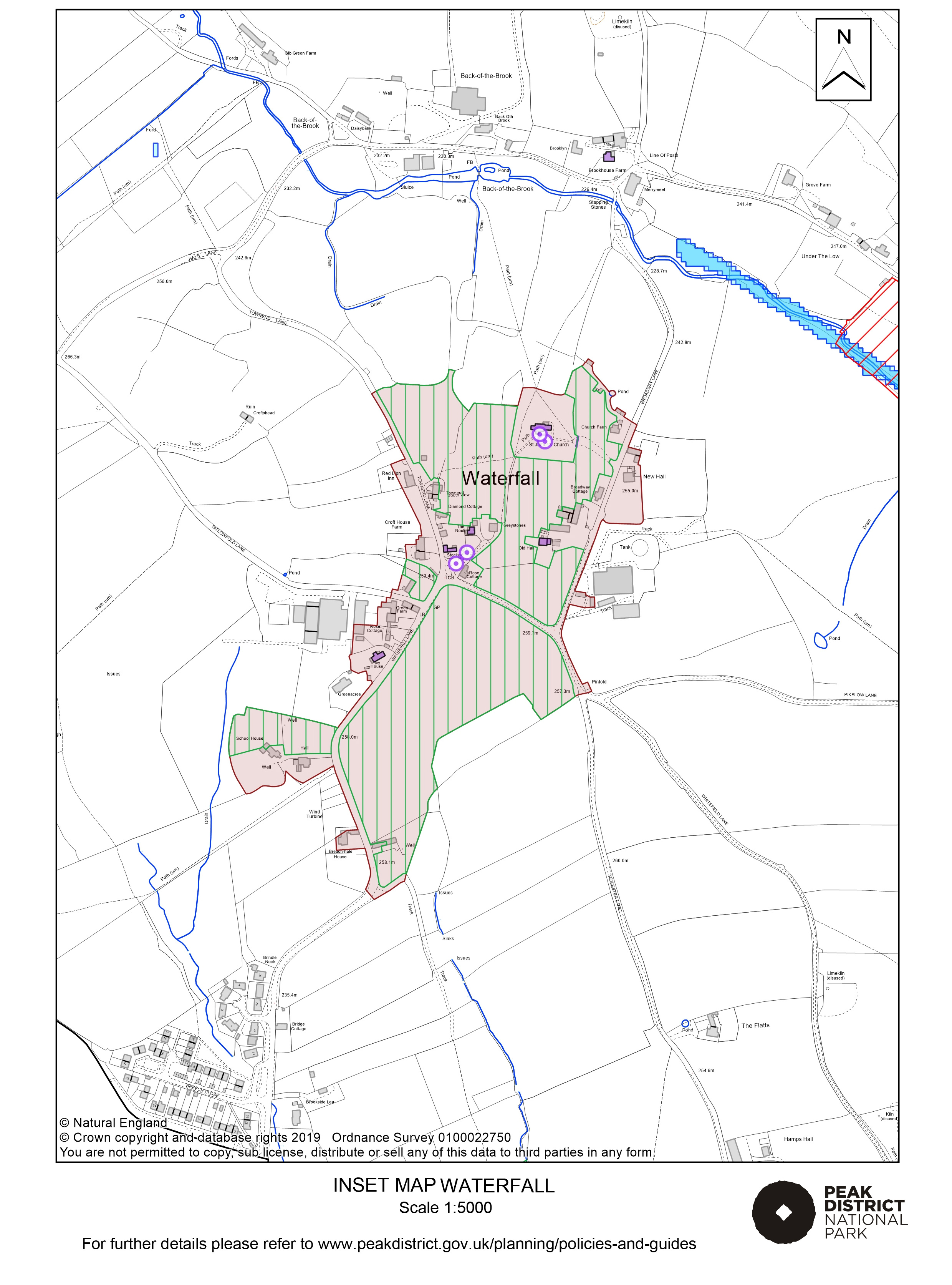 Local Plan Proposals Map: Waterfall