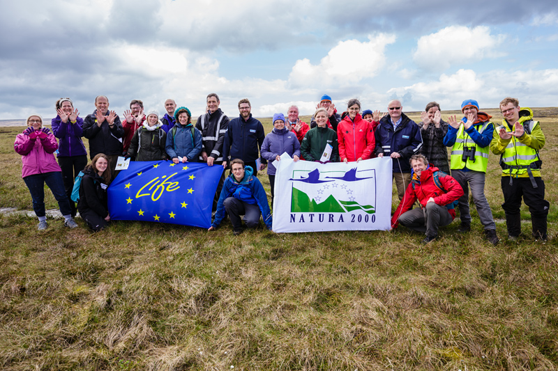 Staff of Moors for the Future Partnership