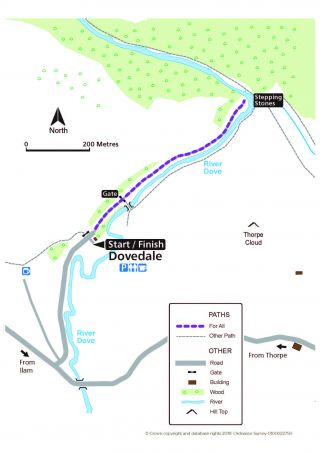Dovedale route