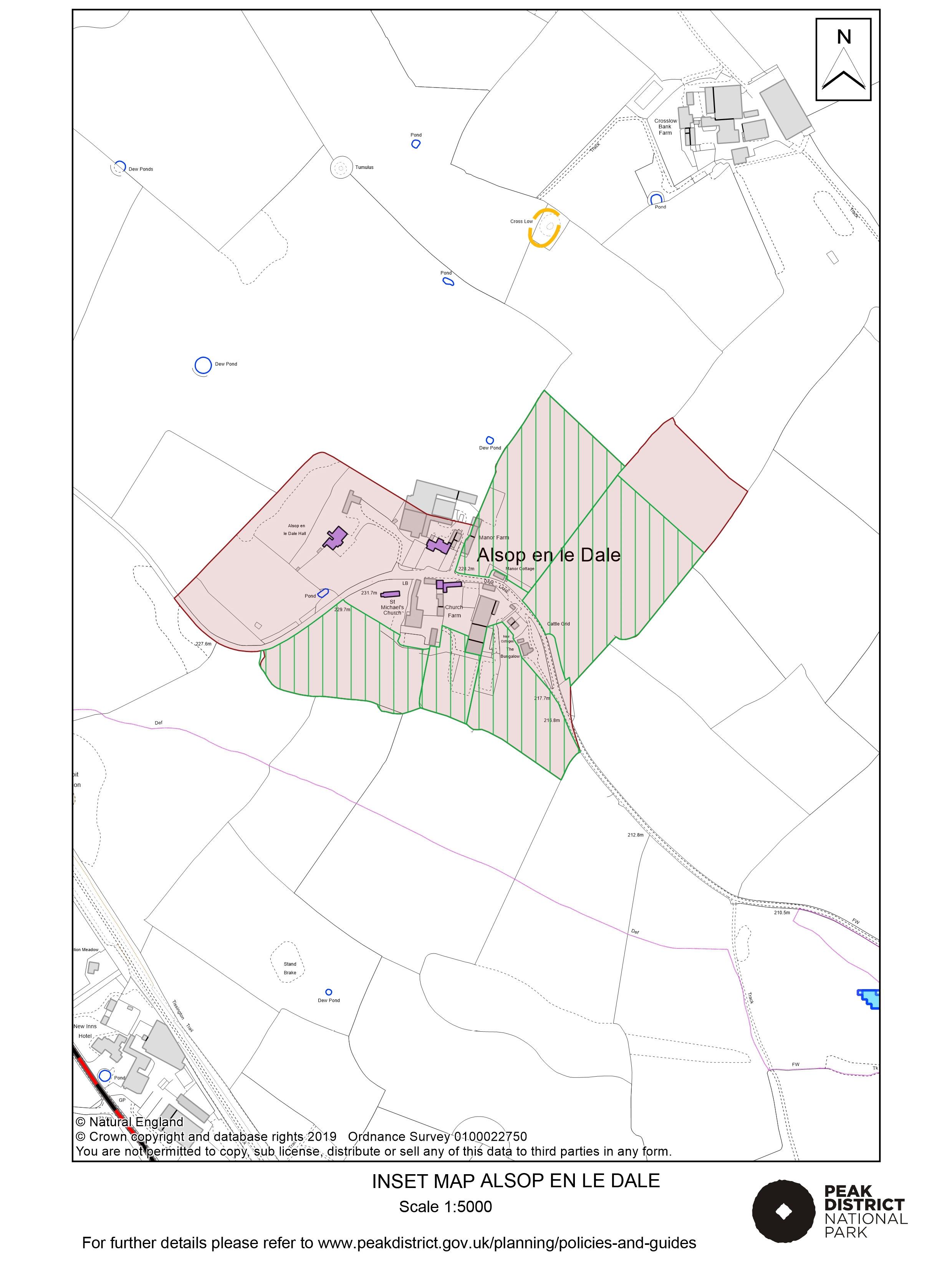 Local Plan Proposals Map: Alsop en le Dale