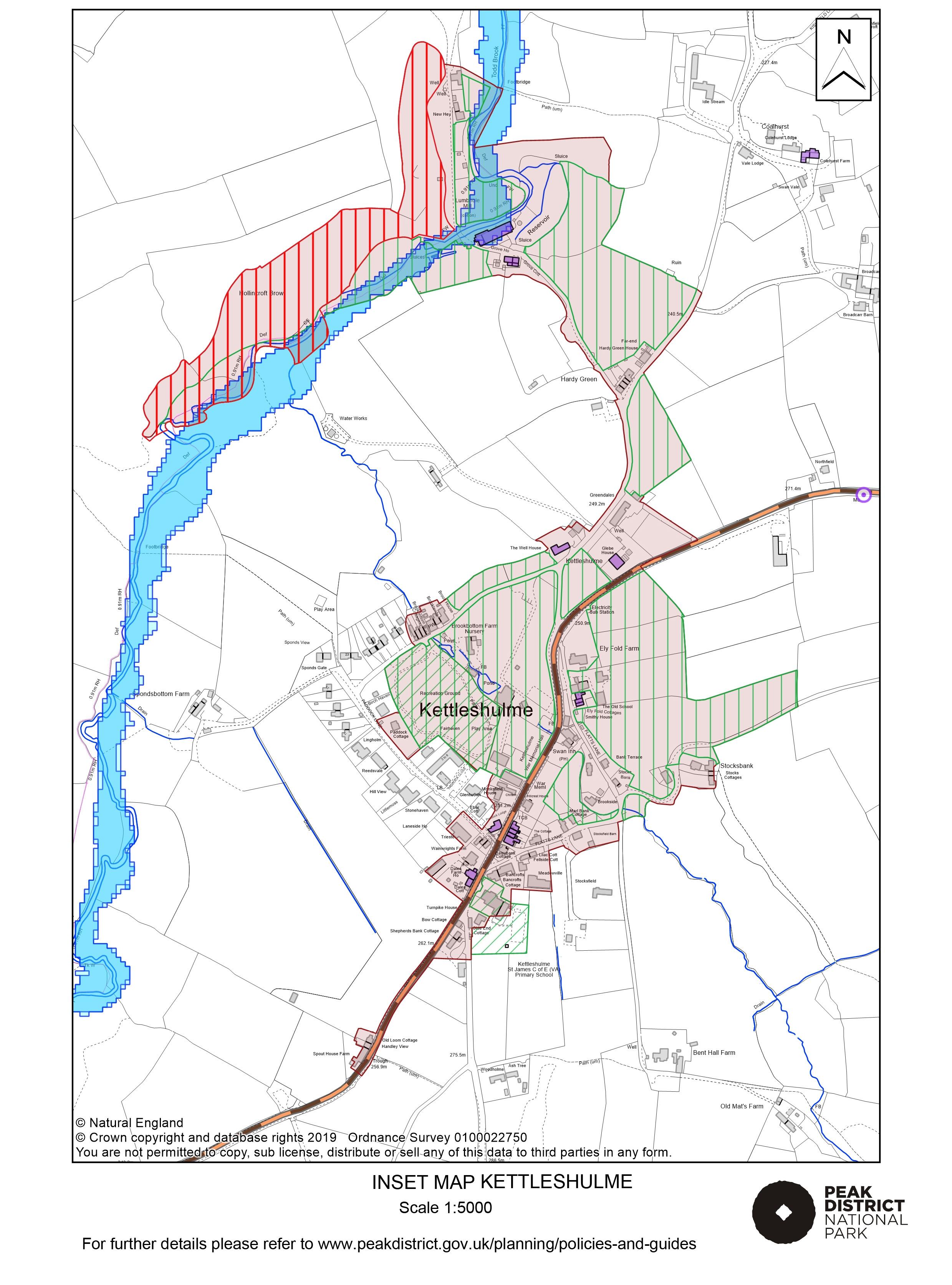 Local Plan Proposals Map: Kettleshulme