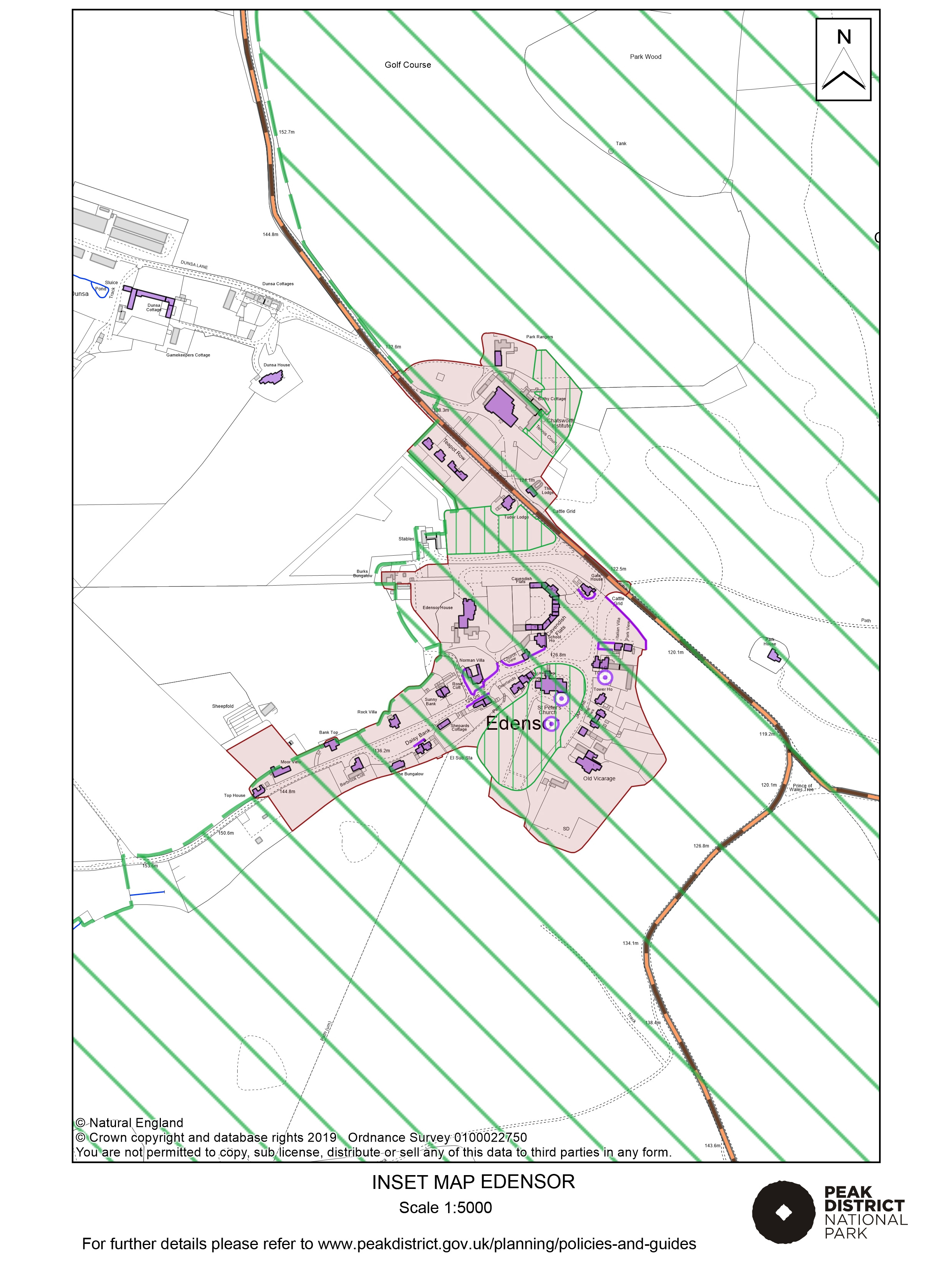 Local Plan Proposals Map: Edensor