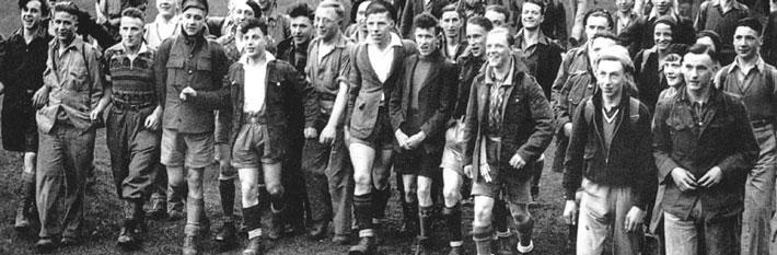 Mass Trespass Walking Group in 1932