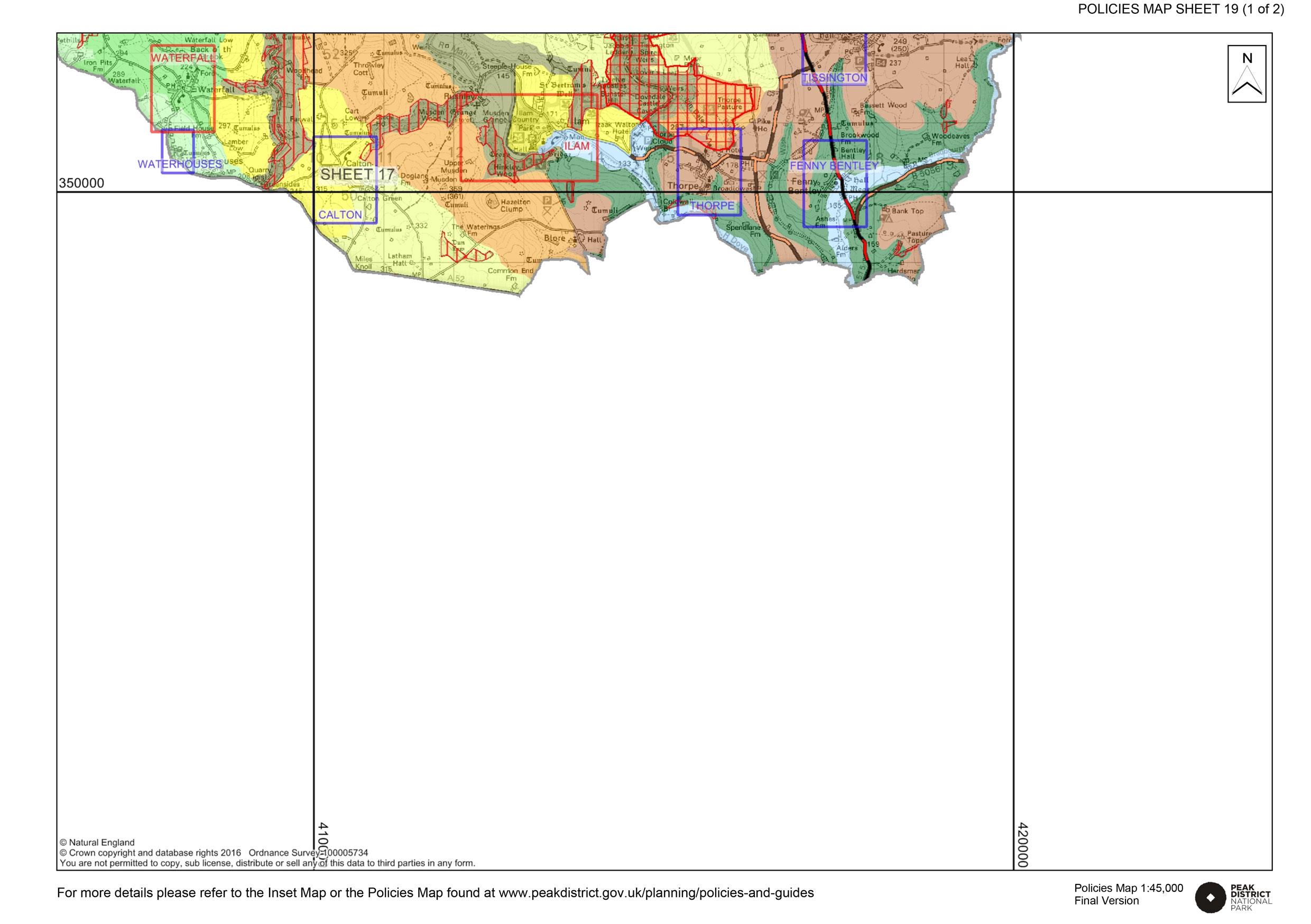 Local Plan Proposals Map 19 landsacape character