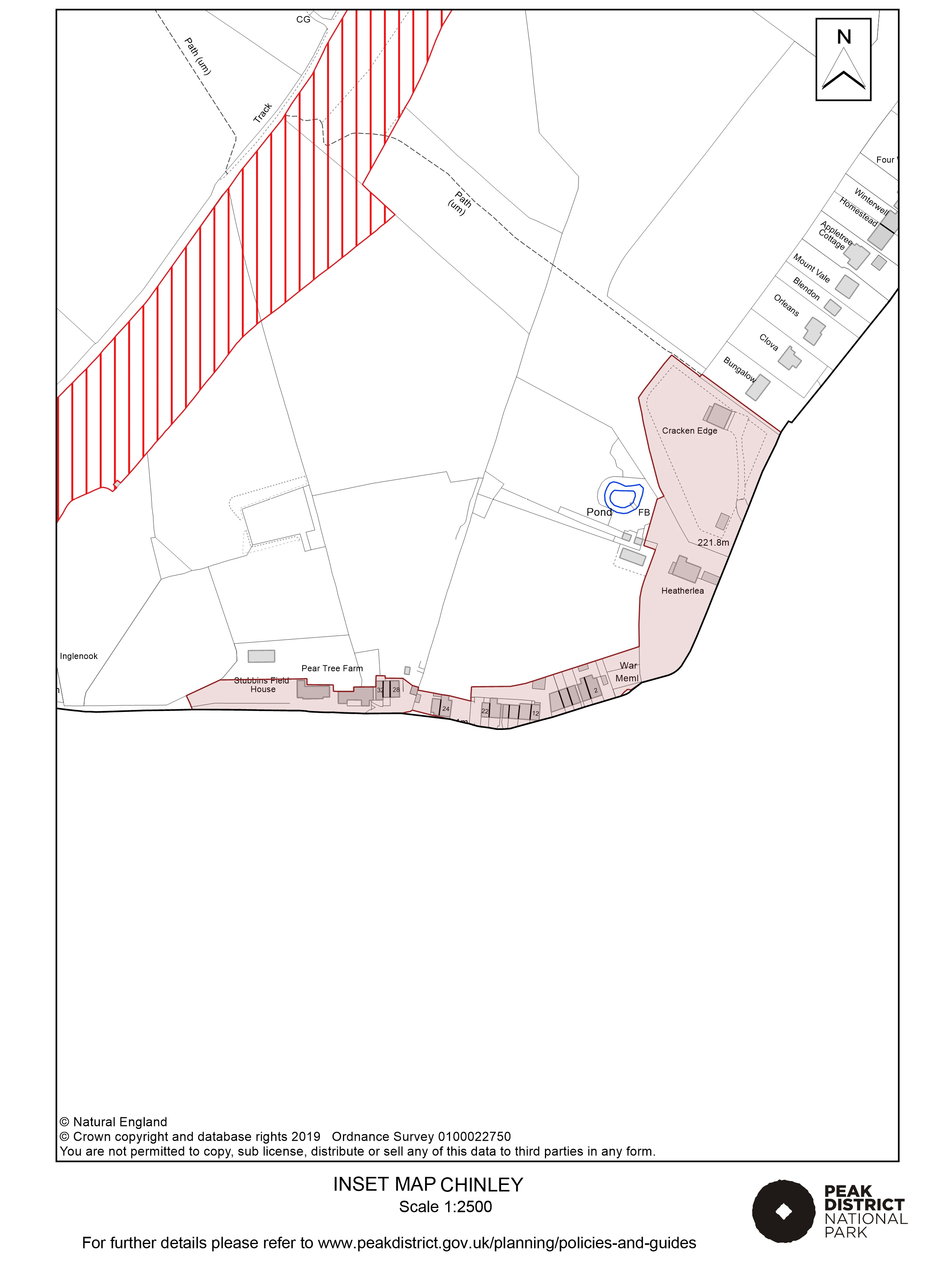 Local Plan Proposals Map: Chinley