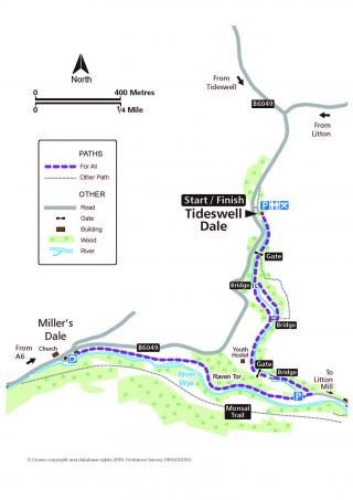 Tideswell Dale route
