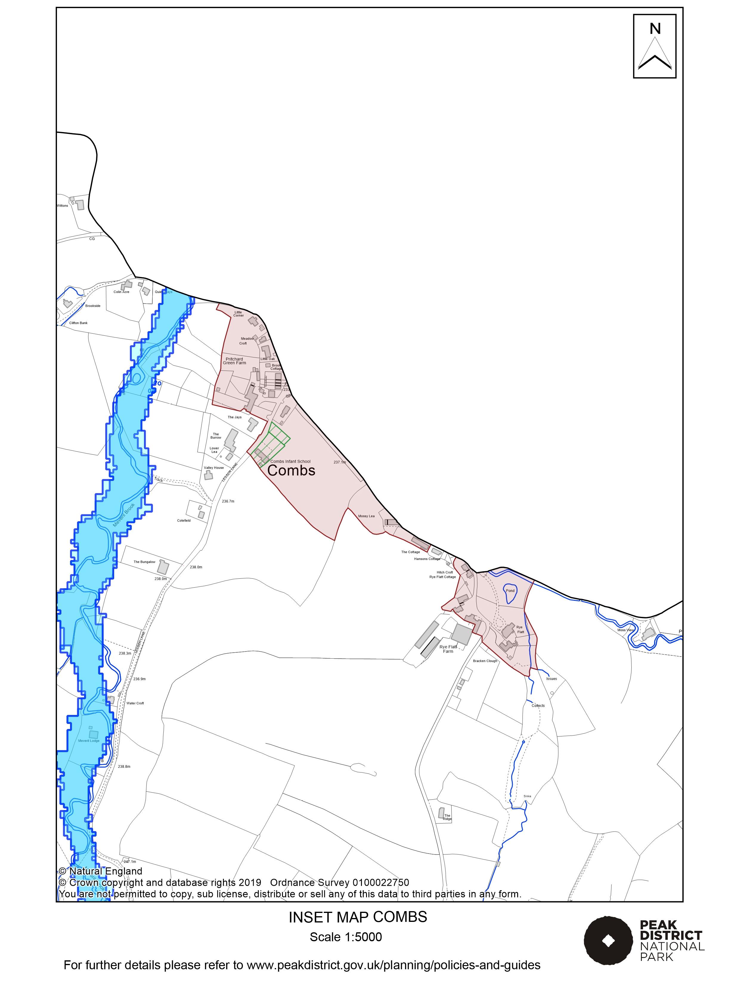 Local Plan Proposals Map: Combs