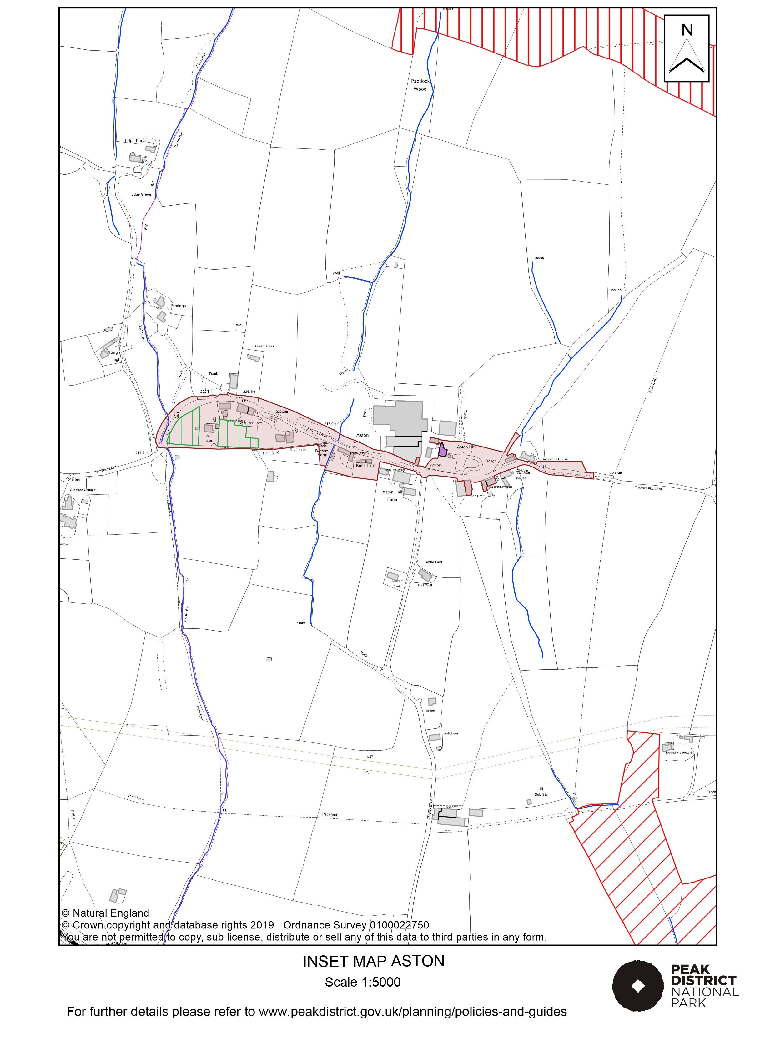 Local Plan Proposals Map: Aston