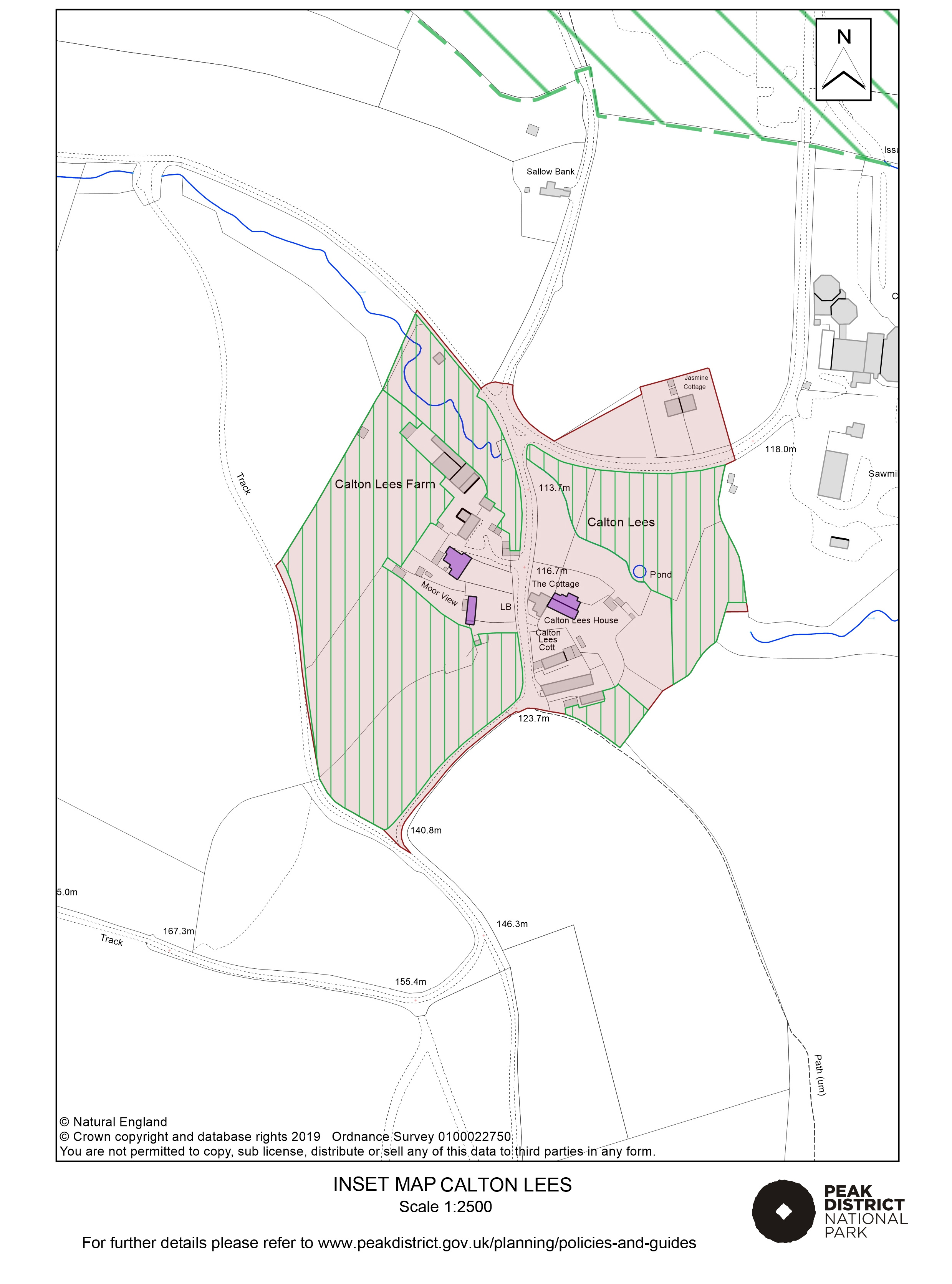 Local Plan Proposals Map: Calton Lees