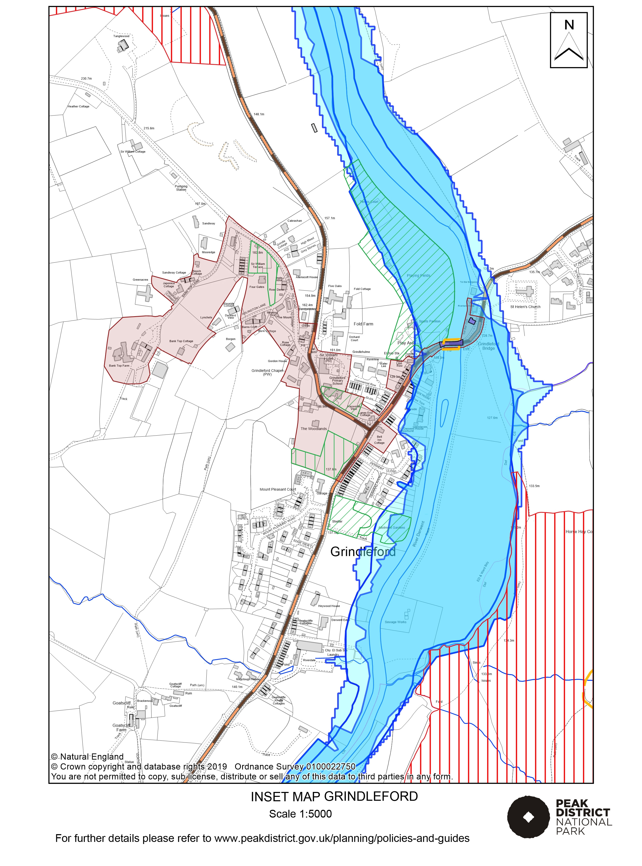 Local Plan Proposals Map: Grindleford