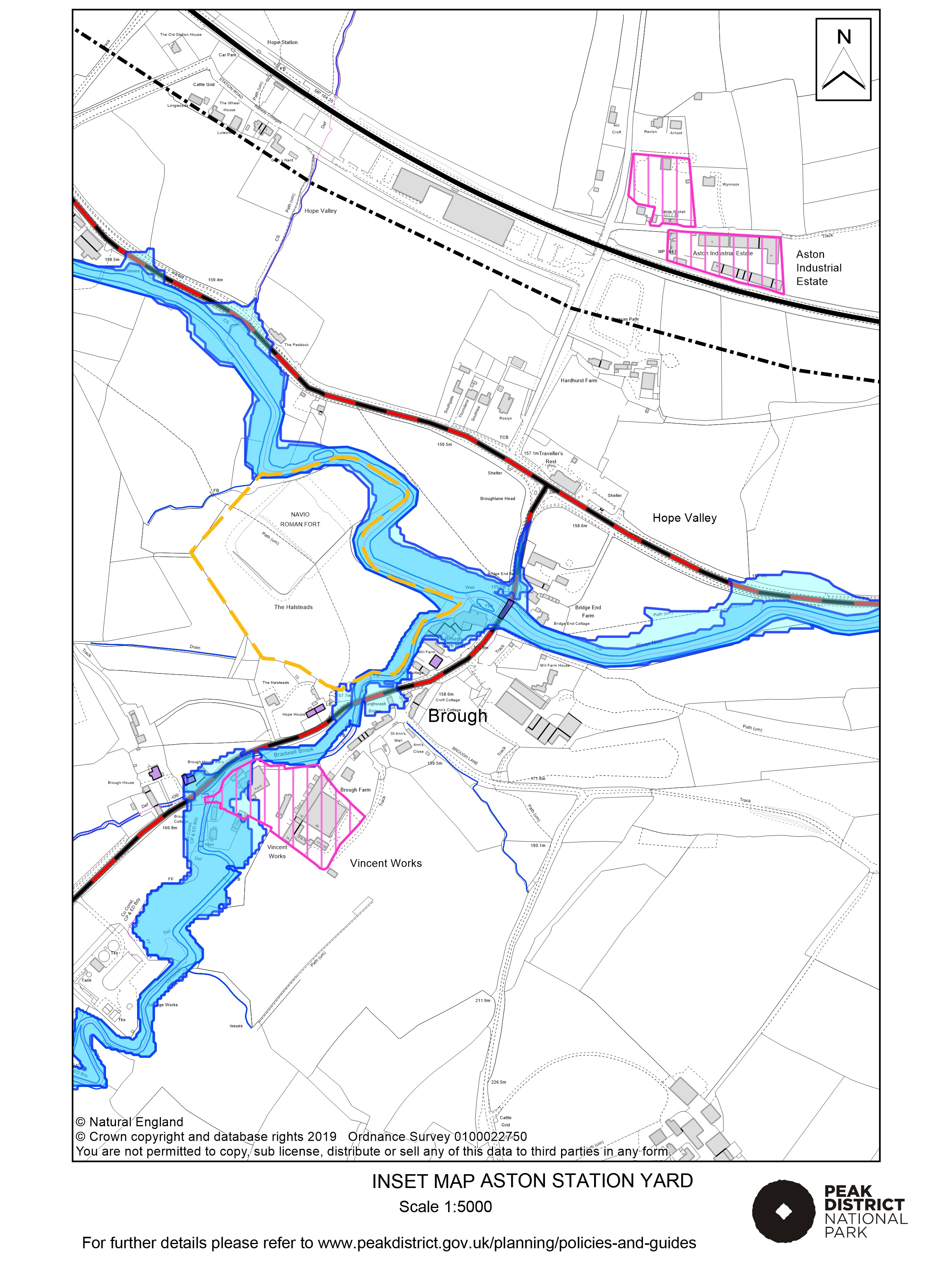 Local Plan Proposals Map: Aston Station Yard