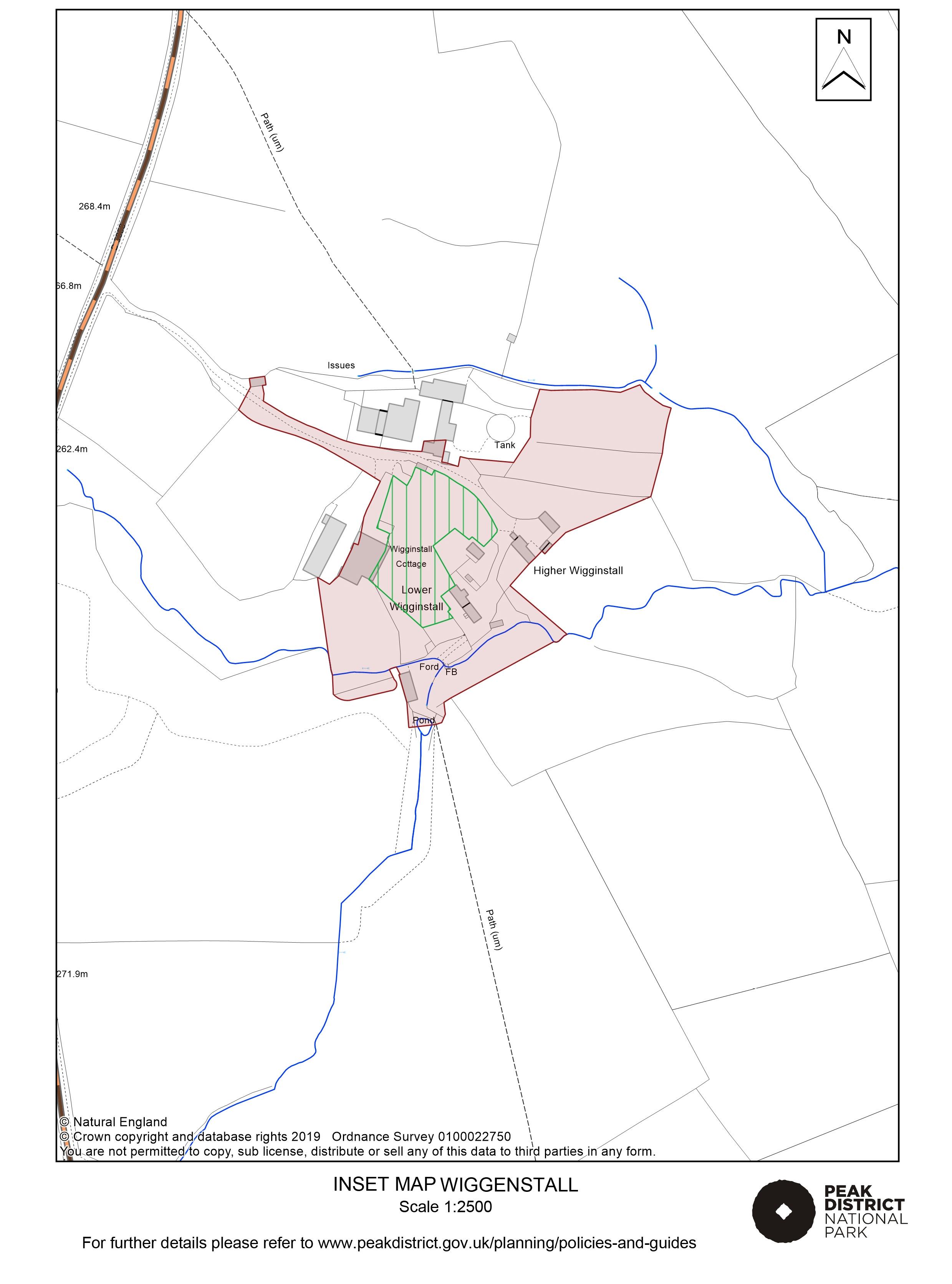 Local Plan Proposals Map: Wiggenstall