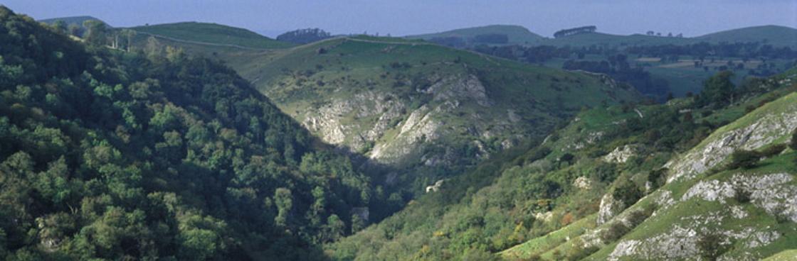 Peak District Landscape illustrating spatial strategy