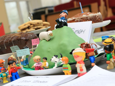 The Mass Trespass cake!