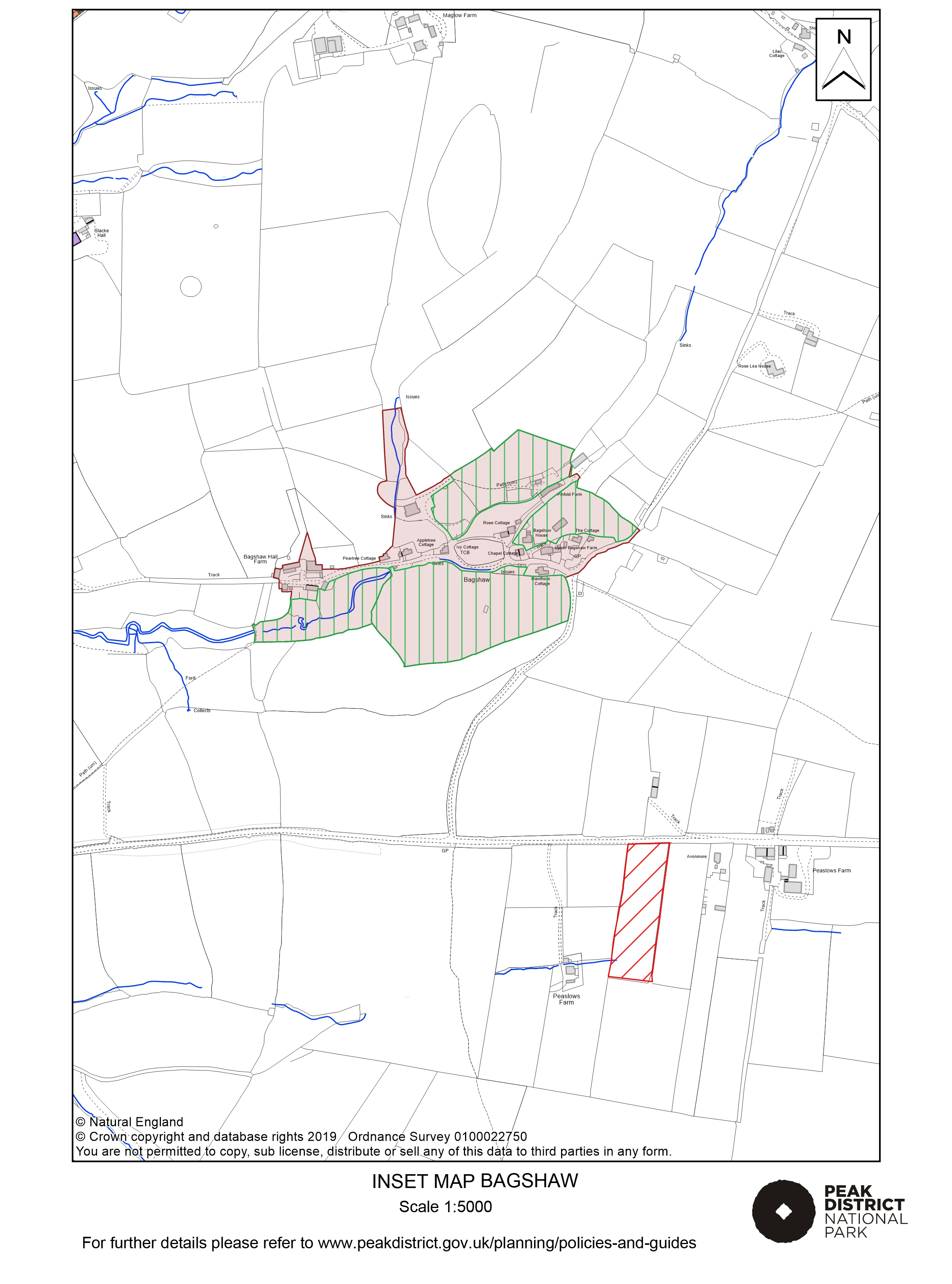 Local Plan Proposals Map: Bagshaw
