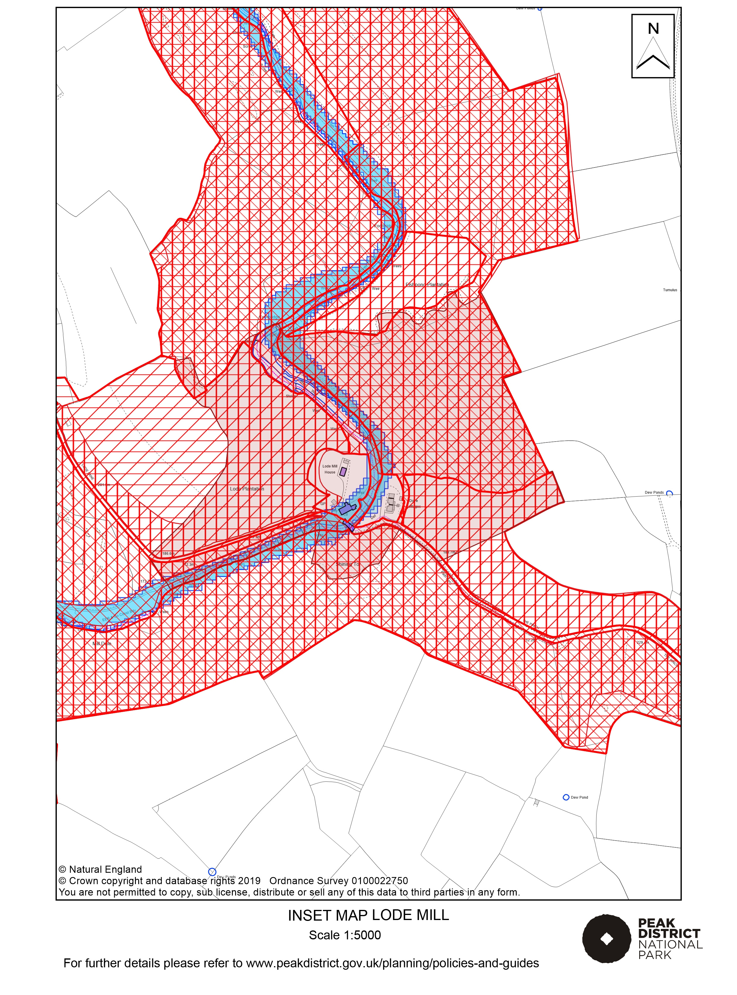 Local Plan Proposals Map: Lode Mill