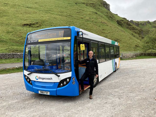 Chair Andrew McCloy on the Hope Valley Explorer