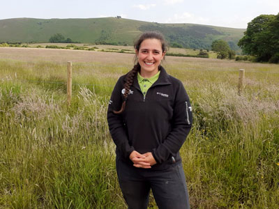 Jasmin Bishop in the Peak District
